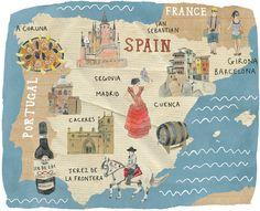 Folio illustration agency, London, UK   Kate Evans - Publishing ∙ Social ∙ People ∙ Landscape - Illustrator