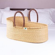Suppliers of Authentic & Handmade Baby Moses basket and bassinets. Our Bolga baskets/African Moses baskets are woven in Ghana under Fair Trade. We also provide African Dog Beds - Bolga Baby Changing Baskets - Garden Baskets & Dog Collars. Baby Moses, Basket Liners, Baby Bassinet, Moses Basket, Nursery Neutral, Neutral Nurseries, Nursery Design, Wall Design, Amigurumi