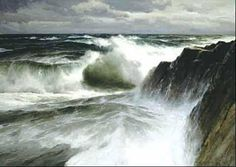 "Donald Demers - ""The Oncoming Sea"""
