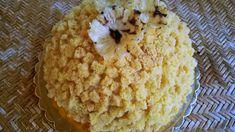 Torta mimosa all'ananas di Luca Montersino Grains, Muffin, Cheese, Breakfast, Food, Chantilly Cream, Pineapple, Morning Coffee, Essen