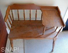 Grandma's Gossip Bench - telephone bench.