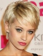 I would love to have this hairstyle.  Unfortunately, it doesn't look good on me.  But I love it anyway.