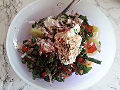 🥗 Przepis na 2 sałatki z dodatkiem szparagów