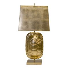 Worlds Away Gold Leaf Tortoise Shell Lamp W. Rectangular Metal Shade ($720) ❤ liked on Polyvore featuring home, lighting, rectangular lamps, gold leaf lamp, rectangle lamp, tortoise shell lamp and rectangular lighting