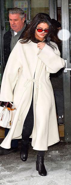 Selena Gomez's Easy Trick For Updating Winter Whites