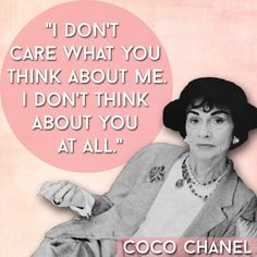 Coco Chanel | 21 Inspiring Quotes Every Woman Needs In Her Life