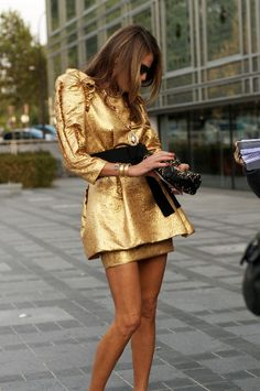 Fashion Icon Anna Dello Russo. I'm not afraid to grow old anymore. Age doesn't affect style.