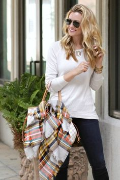 Lightweight Sweater Weather and Monogram Necklace