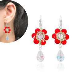 Red Mexican Daisy available on http://jmappeal.myshopify.com