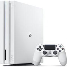 PlayStation 4 Pro CUH-7200 Series 1TB HDD (Glacier White)