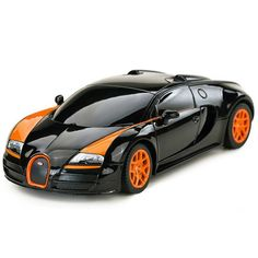 Licensed Rastar 1:24 Mini RC Cars Electric 4CH Remote Control Toys Radio Controlled Bugatti Grand Sport Vitesse 47000