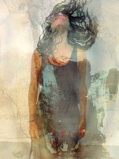 Project idea:  double exposure paint and photo - jaya suberg - Google Search