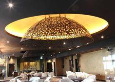 Large-scale ceiling dome, Izel, Conrad Dubai