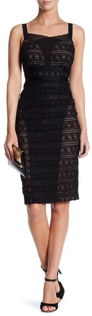 Tracy Reese Stretch Lace Cami Dress
