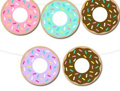 printable-donut-circle-banner