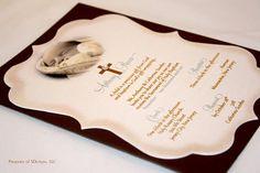 Vintage Baptism or Christening Invitations
