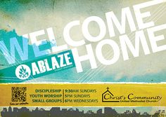 Welcome Home Youth Postcard