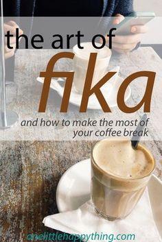 the art of fika