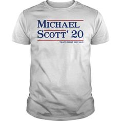 Michael Scott 20 Thats Said Shirt