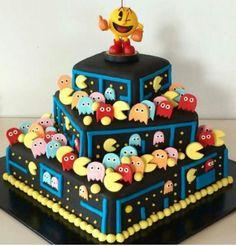 Pac-Man cake  ~Snapchat~
