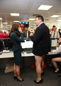 Kate is given advise by Nigel, who works in Emerging Market Derivatives and opted to wear ...