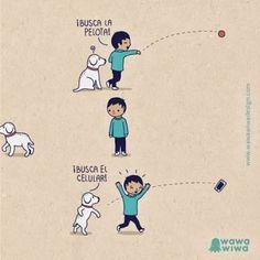 Resultado de imagen para chistes con perros y gatos en pinterest