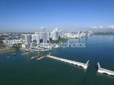 Foto aérea de Edgewater Miami — Foto de Stock #93278674