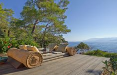 Amanruya - Beach Club Lounge Terrace. © amanresorts