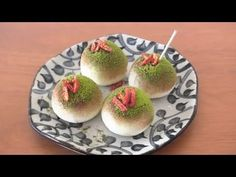 """Takoyaki??? たこ焼き??? Mochi Ice cream """"takoyaki"""", I think I would use strawberries over the wolfberries, mainly due to the availability of strawberries."""