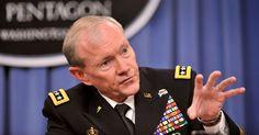 Gen. Martin Dempsey Chairman Of Joint Chiefs Ponders #Zombie #Apocalypse