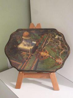 """Bahai Shrine of Bab holy plaque """"the Eight Wonder of the World"""" Bahai gardens"""