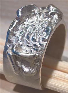 Silverclay ring