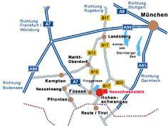 how to get to neuschwanstein castle