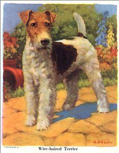 C. Dianne Zweig - Kitsch 'n Stuff: Decorating With Colorful Vintage Dog Prints Salvaged From Old Children's Books
