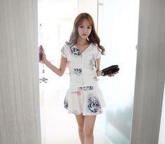 Korea Womens Luxury Shopping Mall [mimindidi] Morning Day set / Size : FREE / Price : 54.69 USD #koreafashionshop #koreafashion #pinterfashion #pinterclothes #pintershop #koreashop #dailyfashion #OOTD #apparel #skirt