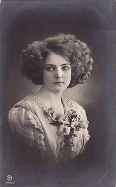 Vintage upset lady 005 by MementoMori-stock.deviantart.com on @deviantART