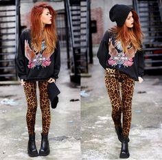 Love those cheetah print pants | Tumblr