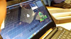 14-11-25 Y procesando el resultado ...  Evento: Ven, mira, vuela drones e imprime en 3D #erw2014 #epsarea