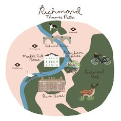 Richmond Thames Path Walk — London Block by Block