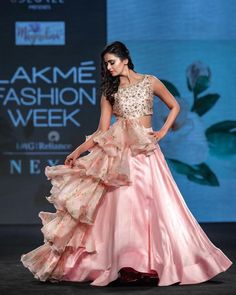 Best Bridal Lehenga designs this wedding season! Indian Wedding Gowns, Indian Gowns Dresses, Choli Designs, Lehenga Designs, Lehnga Dress, Lehenga Choli, Cape Lehenga, Sharara, Anarkali