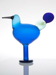 Birds by Toikka Kiikkuri iittala Glass Birds, Architects, Scandinavian, Glass Art, Flora, Vase, Crafts, Design, Glass
