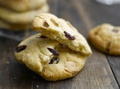 White Chocolate and Cranberry Cookies - Glutafin gluten free recipes