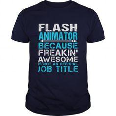 FLASH ANIMATOR T Shirts, Hoodies, Sweatshirts. CHECK PRICE ==► https://www.sunfrog.com/LifeStyle/FLASH-ANIMATOR-Navy-Blue-Guys.html?41382