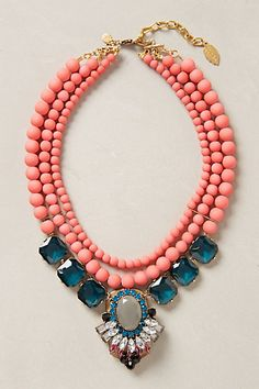 striking feminine colors in this bib necklace,cheap fashion bib necklace statement necklace women collar shop at Costwe.com