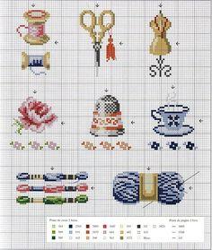 Gallery.ru / Фото #77 - Собираю схемы с наперстками - Julie-pr
