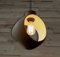 inspired by mixing bowls and bread dough, we designed these fixtures for a bakery