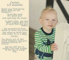 """Easy monthly Toddler updates using PSE 9 and the """"crop"""" tool! Will post a tutorial soon."""