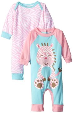 Amazon.com: Gerber Baby-Girls Newborn Coverall Two-Pack: Clothing