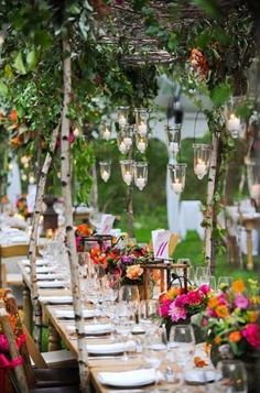 pinterest outdoor wedding decor | Outdoor Wedding Decor Ideas; Design It Proper the Season