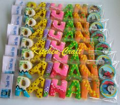 gallery of alphabetical cookies | Alphabet Cookies | Flickr - Photo Sharing!